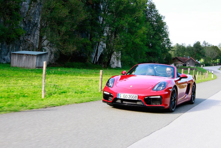 Porsche Boxster GTS car review