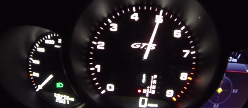 Porsche Boxster GTS Slider